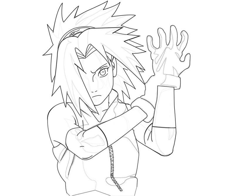 Naruto coloring pages sakura coloring home for Free naruto coloring pages