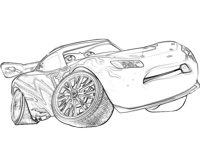 Mcqueen Cars 2 Coloring Pages (11 Image) - Colorings.net