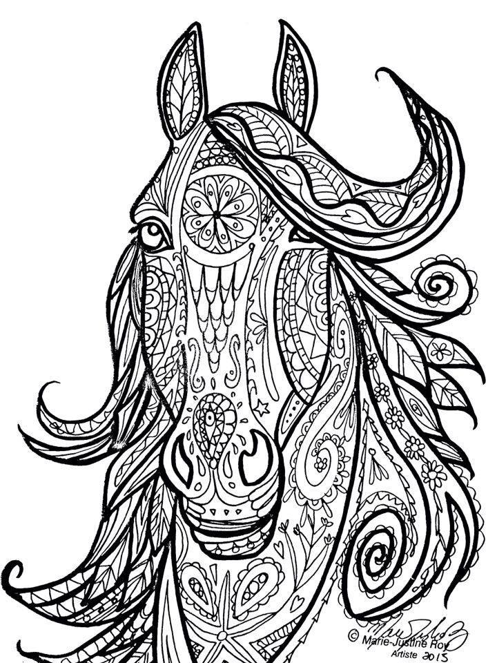 tribal animal coloring pages - photo#15
