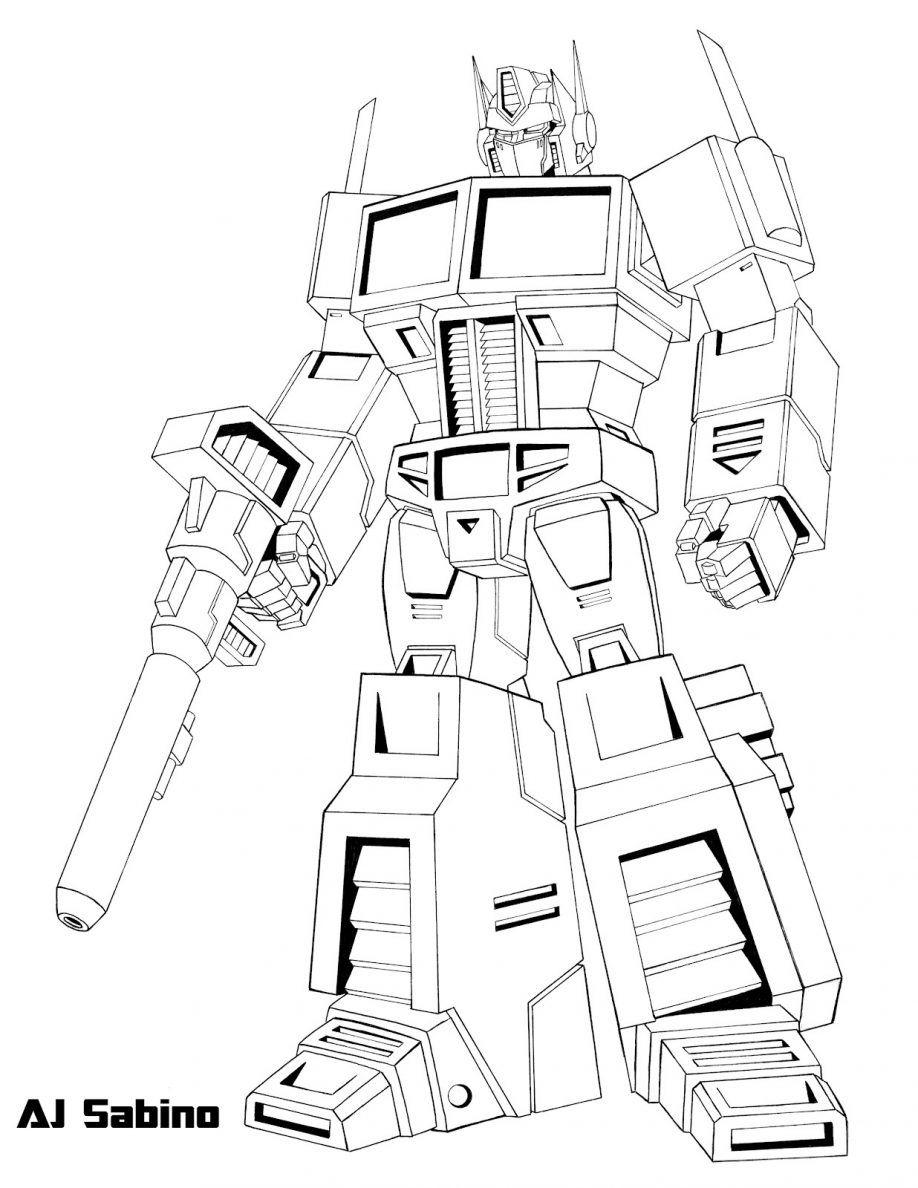 optimus prime megatron coloring pages rescue bots optimus prime - Rescue Bots Coloring Book