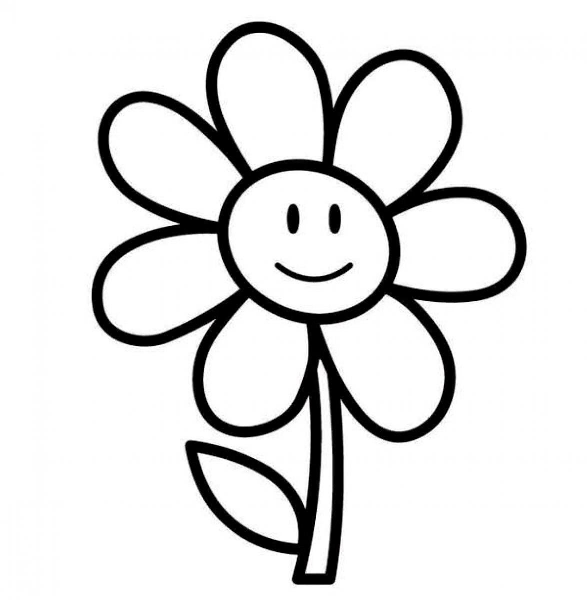 easy spring flower coloring pages - VoteForVerde.com