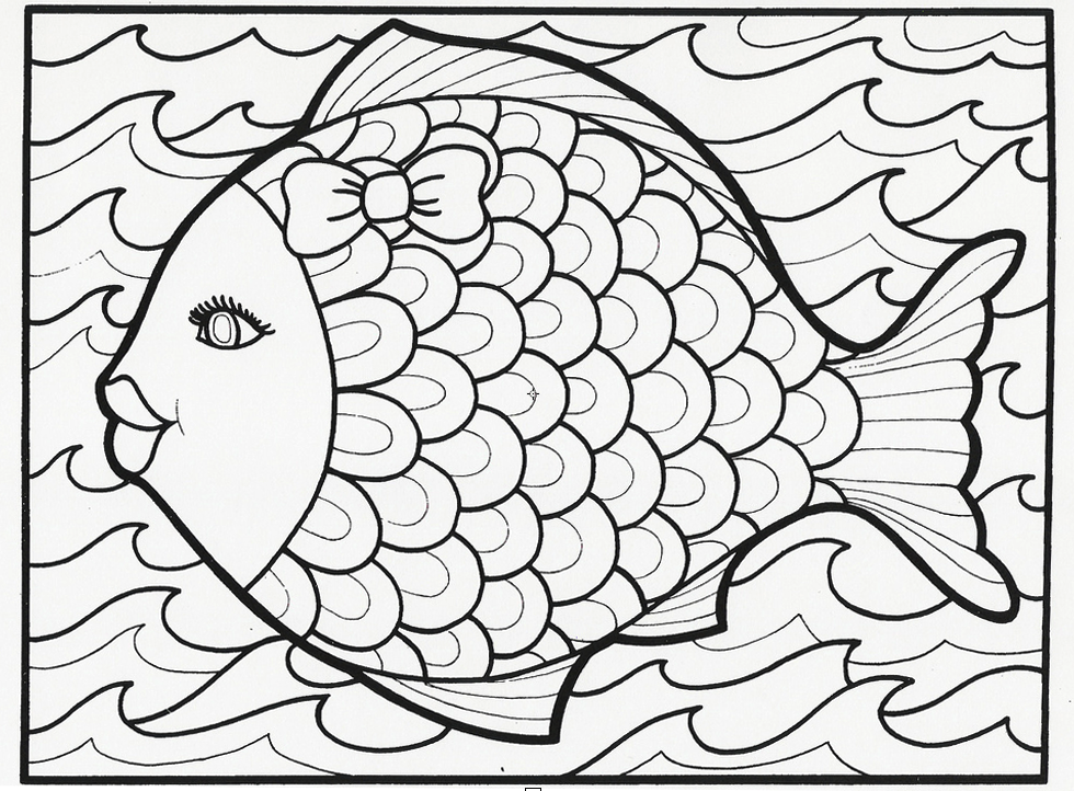 Coloring Pages Printable Doodles