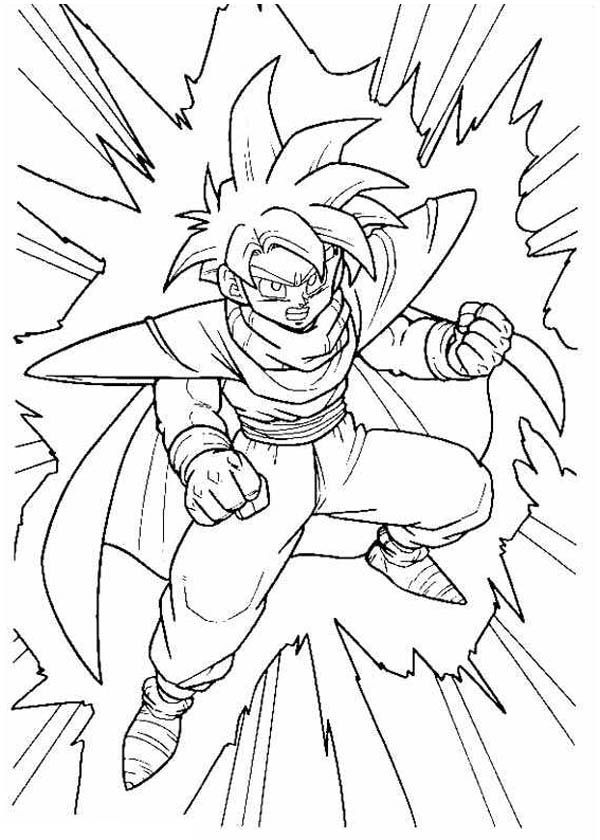 Dbz cell coloring page coloring home for Dragon ball z cell coloring pages