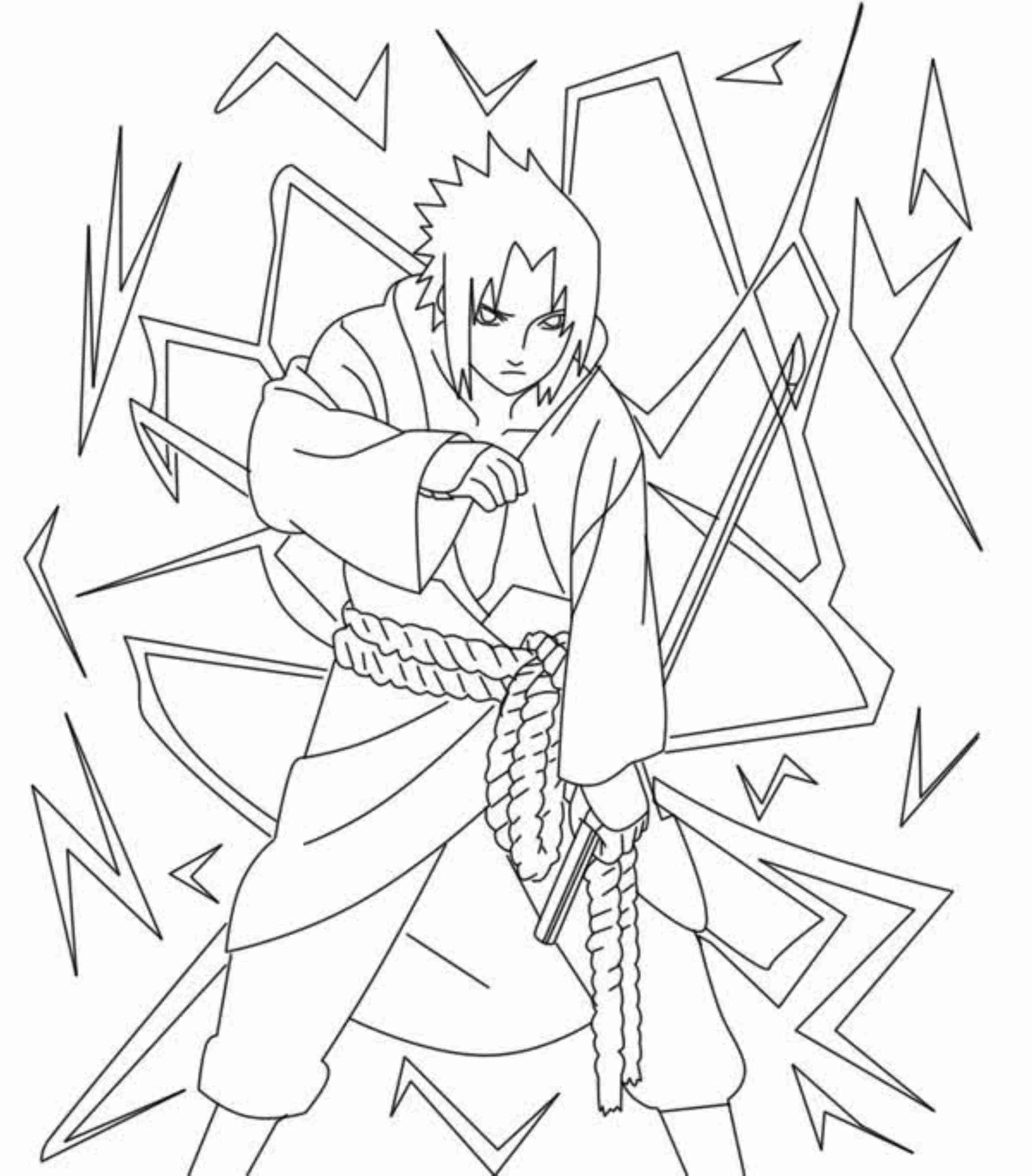Naruto Coloring Pages Pdf : Naruto akatsuki coloring pages for kids and adults