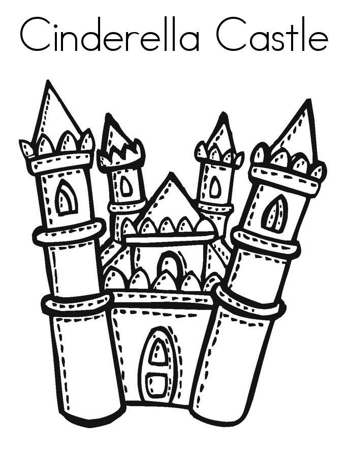 Disney world castle coloring page coloring home for Disney castle coloring pages printable