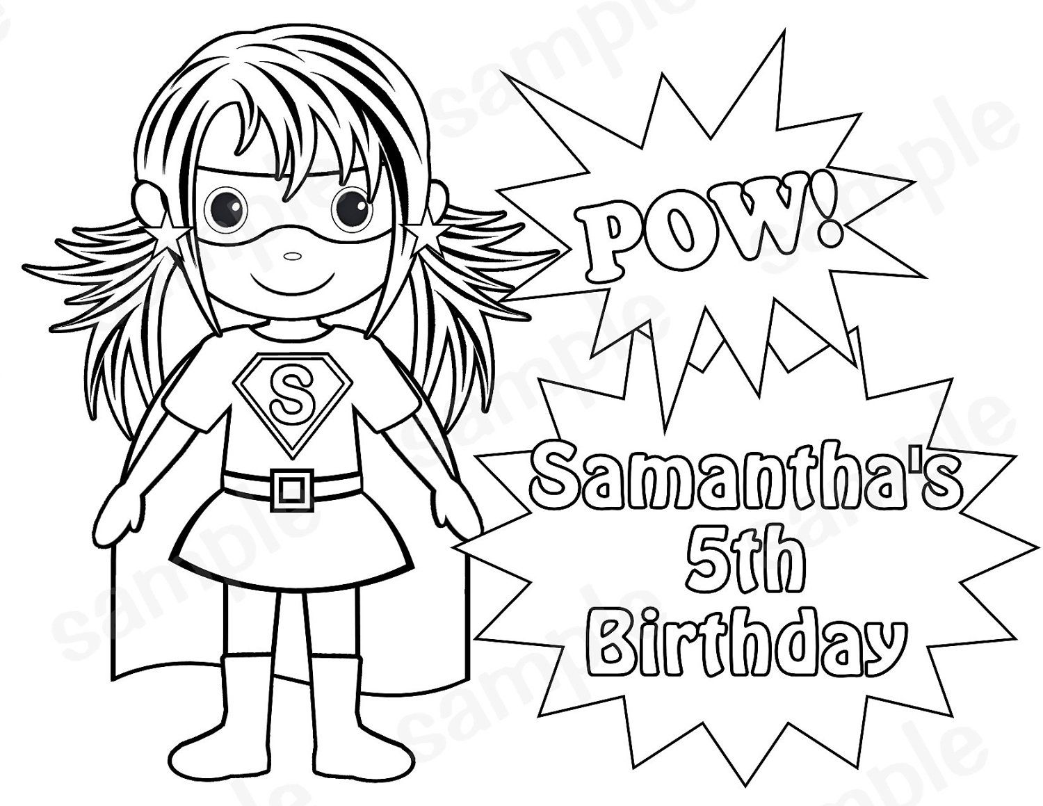 - Superhero Girls Coloring Pages - Coloring Home