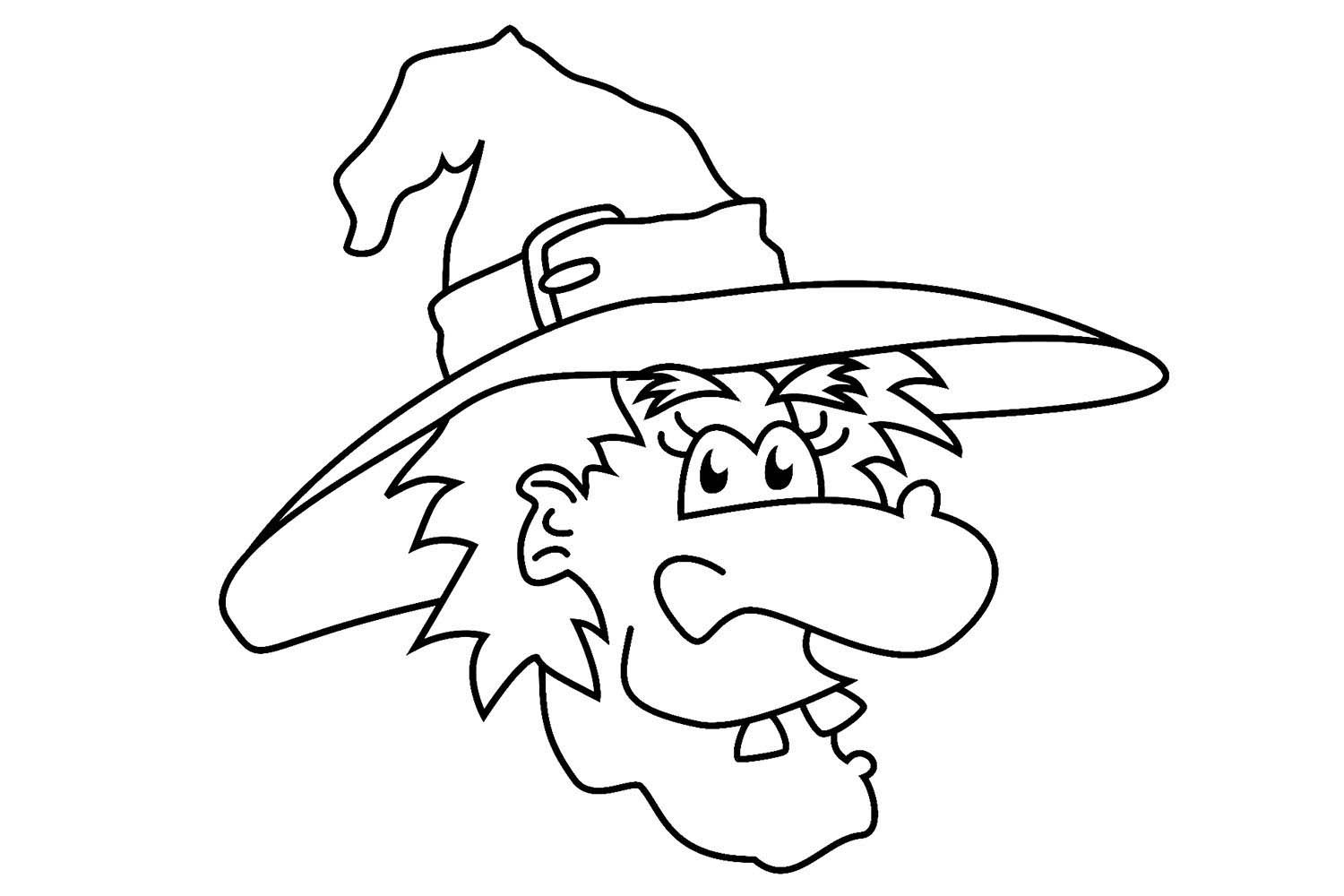 The Best Halloween Witch Coloring Pages