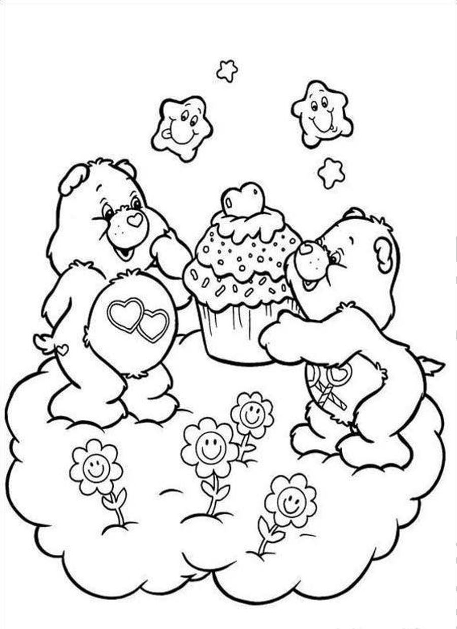 Free Printable Care Bear Coloring Pages For Kids Coloring Home