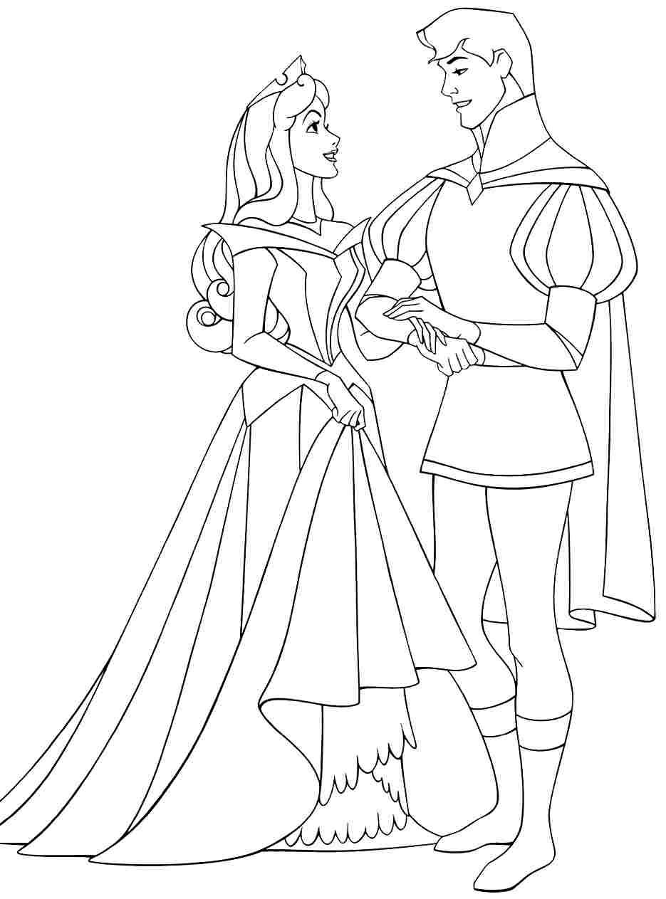 Disney Princess Winter Coloring