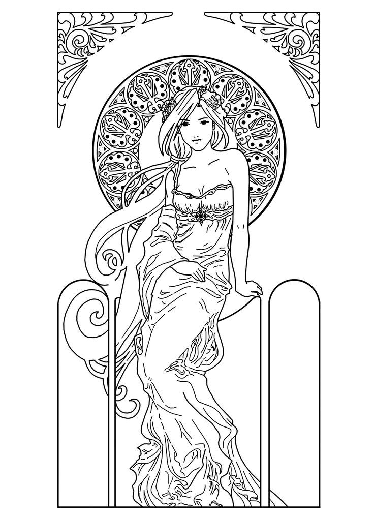 Adult Coloring Books & Media | Adult Coloring Pages ...