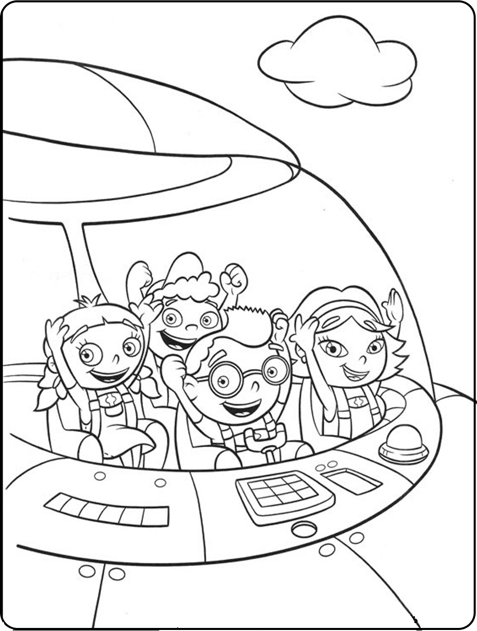 Baby Einstein Coloring Pages Free Printable   Coloring Page