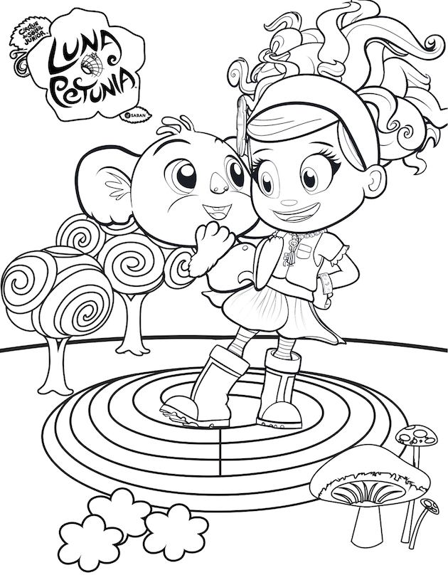 Chip and Potato Show Coloring Pages (Page 1) - Line.17QQ.com