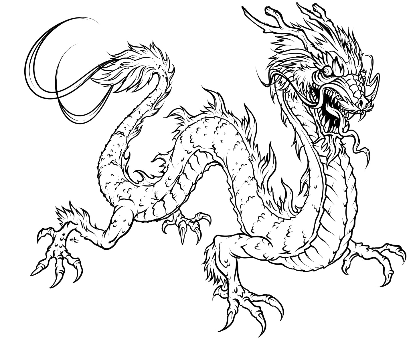 Dragon #148374 (Characters) – Printable coloring pages