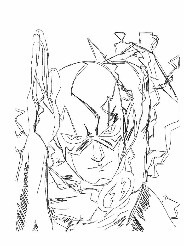 The Flash Line Art : Flash coloring pages home