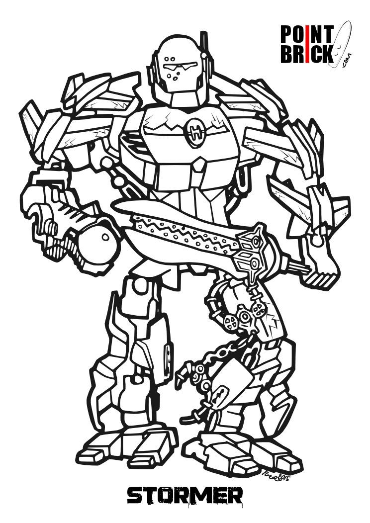 Lego Hero Factory Colouring Pictures - Coloring Pages ...