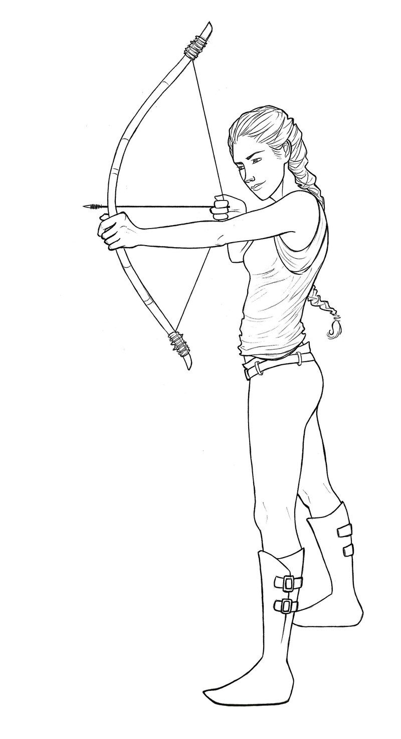 hunger games coloring pages printable - photo#8