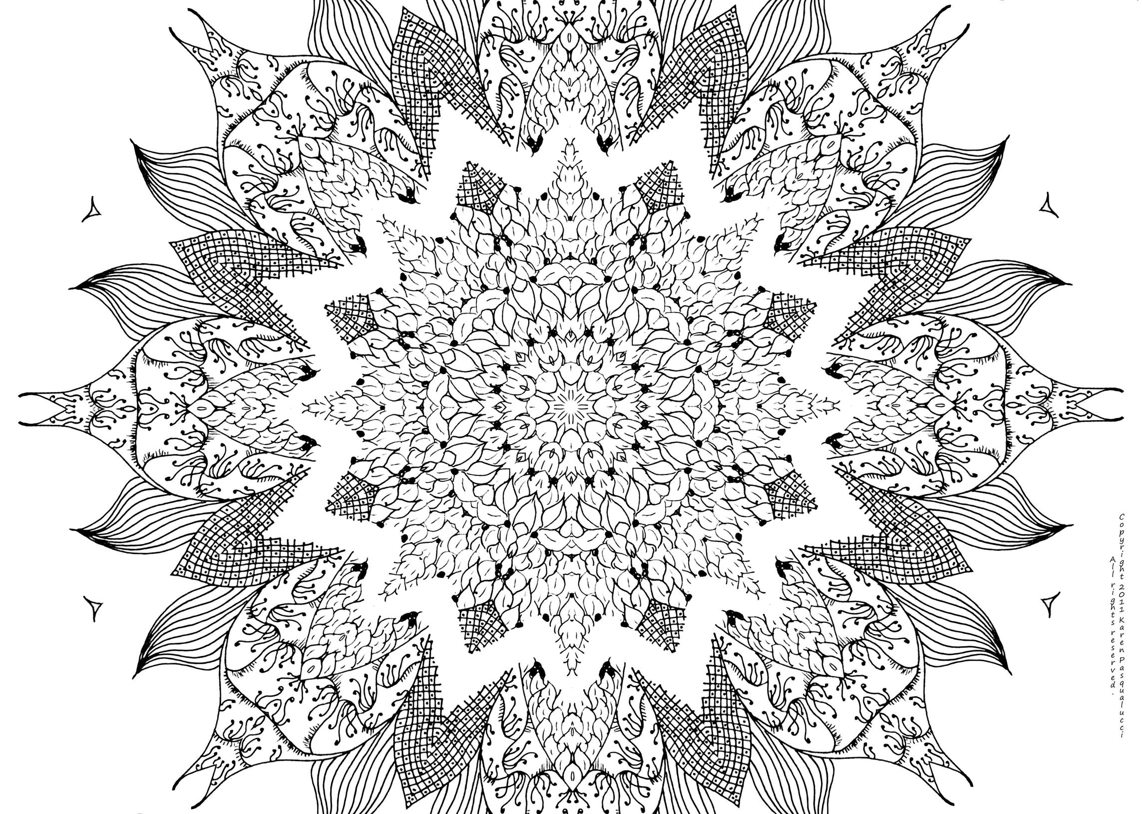Free Mandala Coloring Pages For Adults (19 Pictures) - Colorine ...
