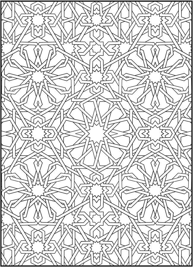 mosaic coloring pages of animals coloring home. Black Bedroom Furniture Sets. Home Design Ideas