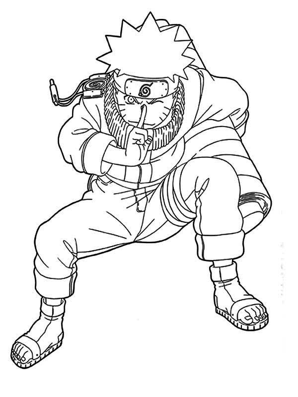 online naruto coloring pages - photo#15
