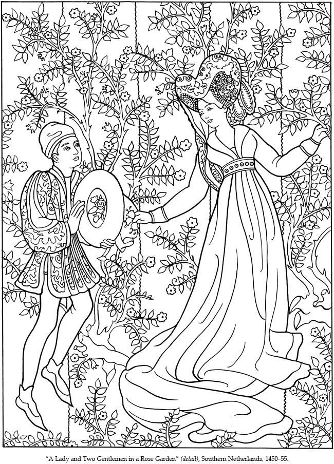 Adult Medieval Coloring Pages Coloring Pages For All Ages