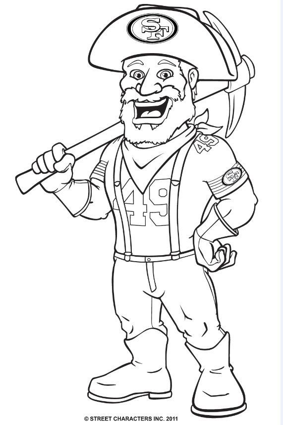 mascot and coloring pages - photo#11