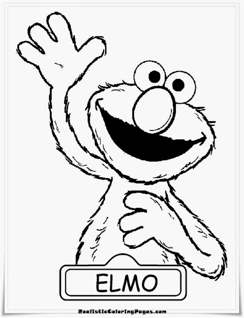 elmo coloring pages printable - elmo coloring pages printable free coloring home