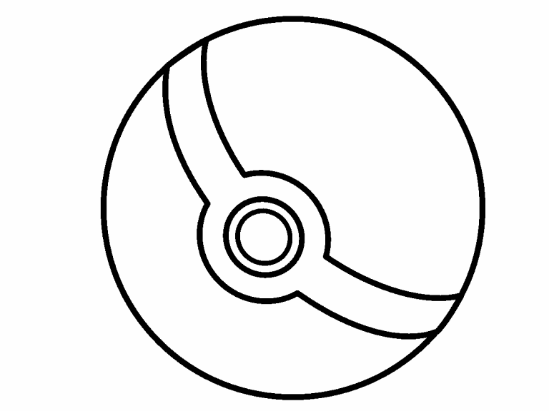 - Pokeball Coloring Pages - Coloring Home