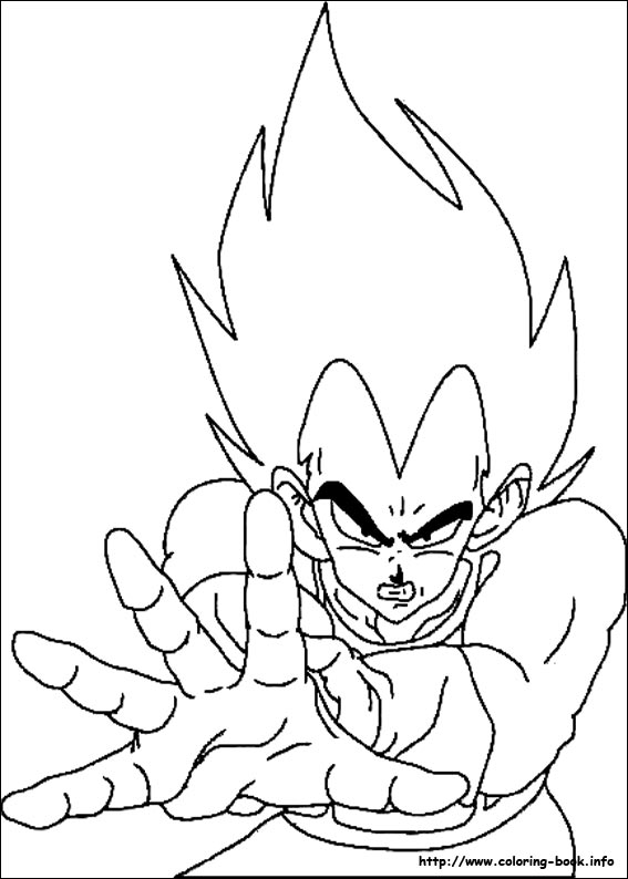 dragon ball z coloring pages on coloring bookinfo - Www Coloring Book Info