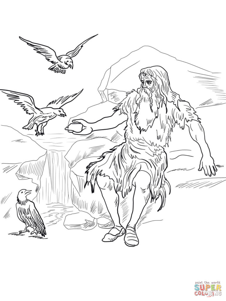 elisha coloring pages for kids - photo#23