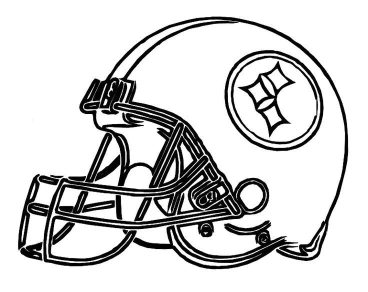 steelers coloring pages steelers logo coloring pages pittsburgh - Steelers Coloring Pages