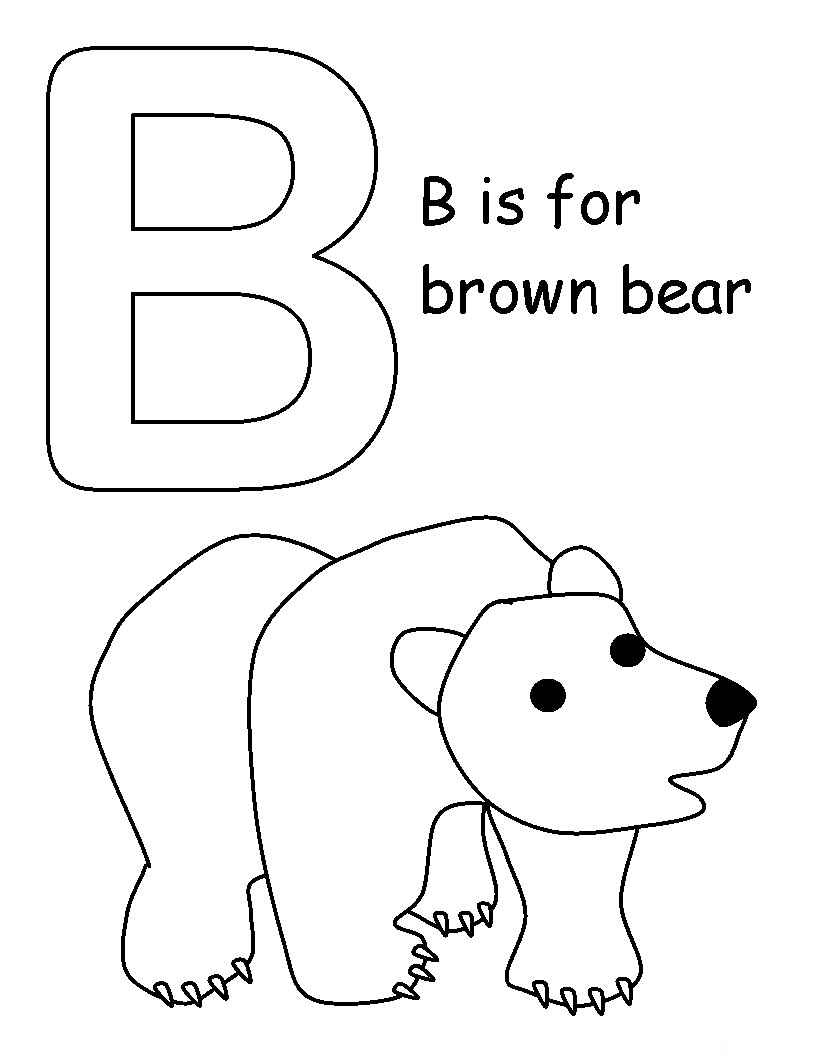 Brown Bear Brown Bear What Do You See Coloring Pages Brown Color Pages
