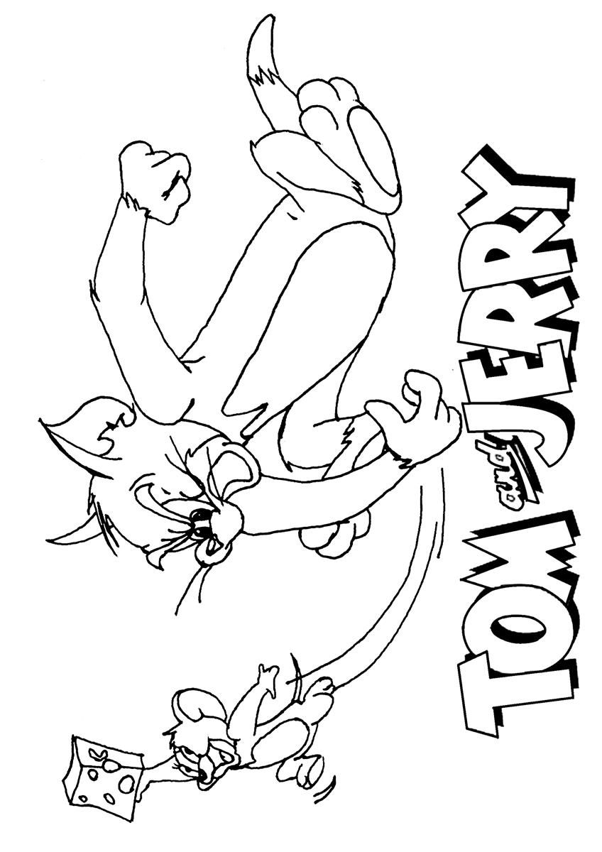 Tom and jerry spike coloring pages coloring home for Tom and jerry coloring pages to print