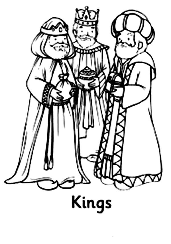 the three kings coloring pages - photo#16