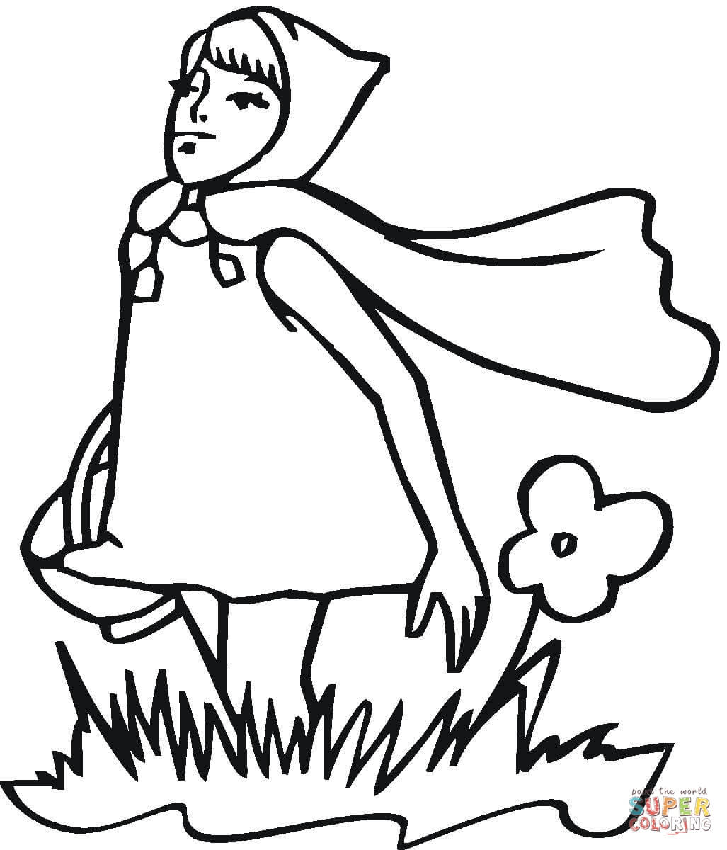 little red riding hood coloring pages free coloring home