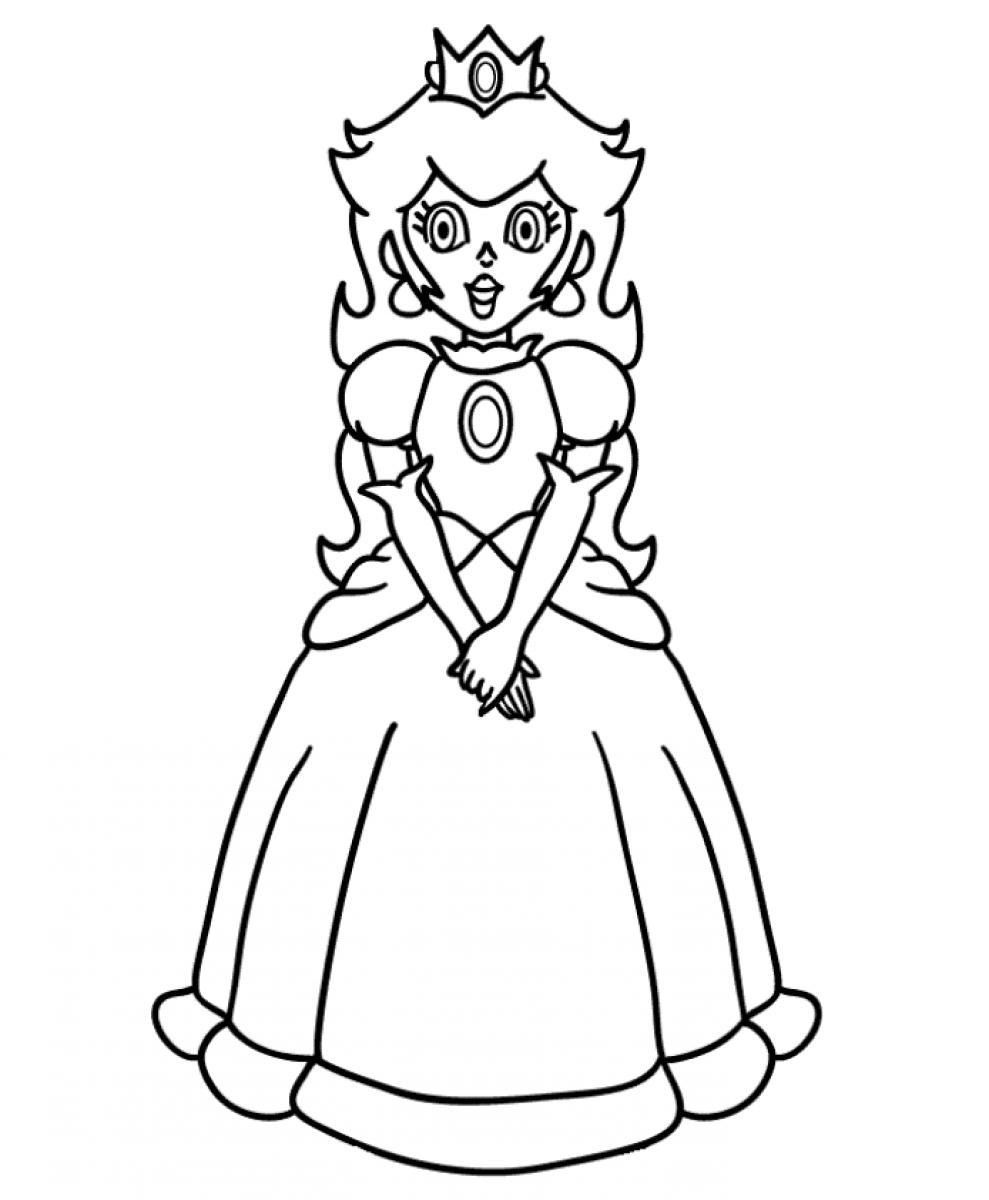 Coloring Pages To Print Of Rosalina