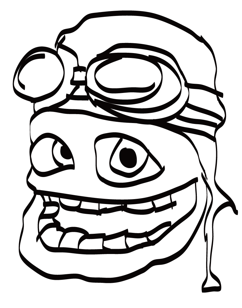 Crazy Frog Coloring Pages High Quality Coloring Pages