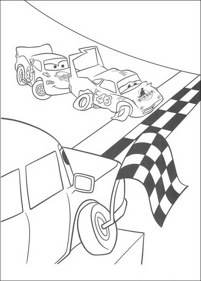 Coloring Pages Funny Cars