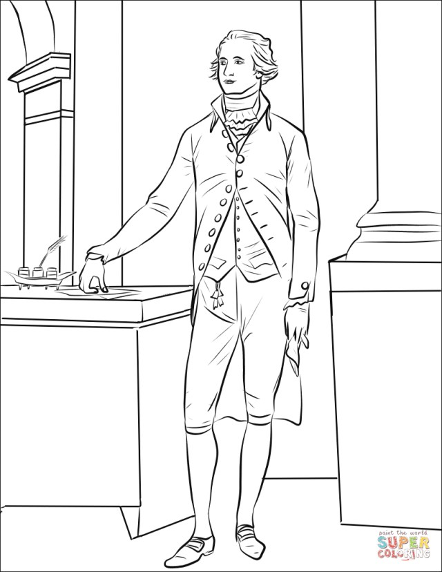 Amazing Image of Hamilton Coloring Pages - birijus.com
