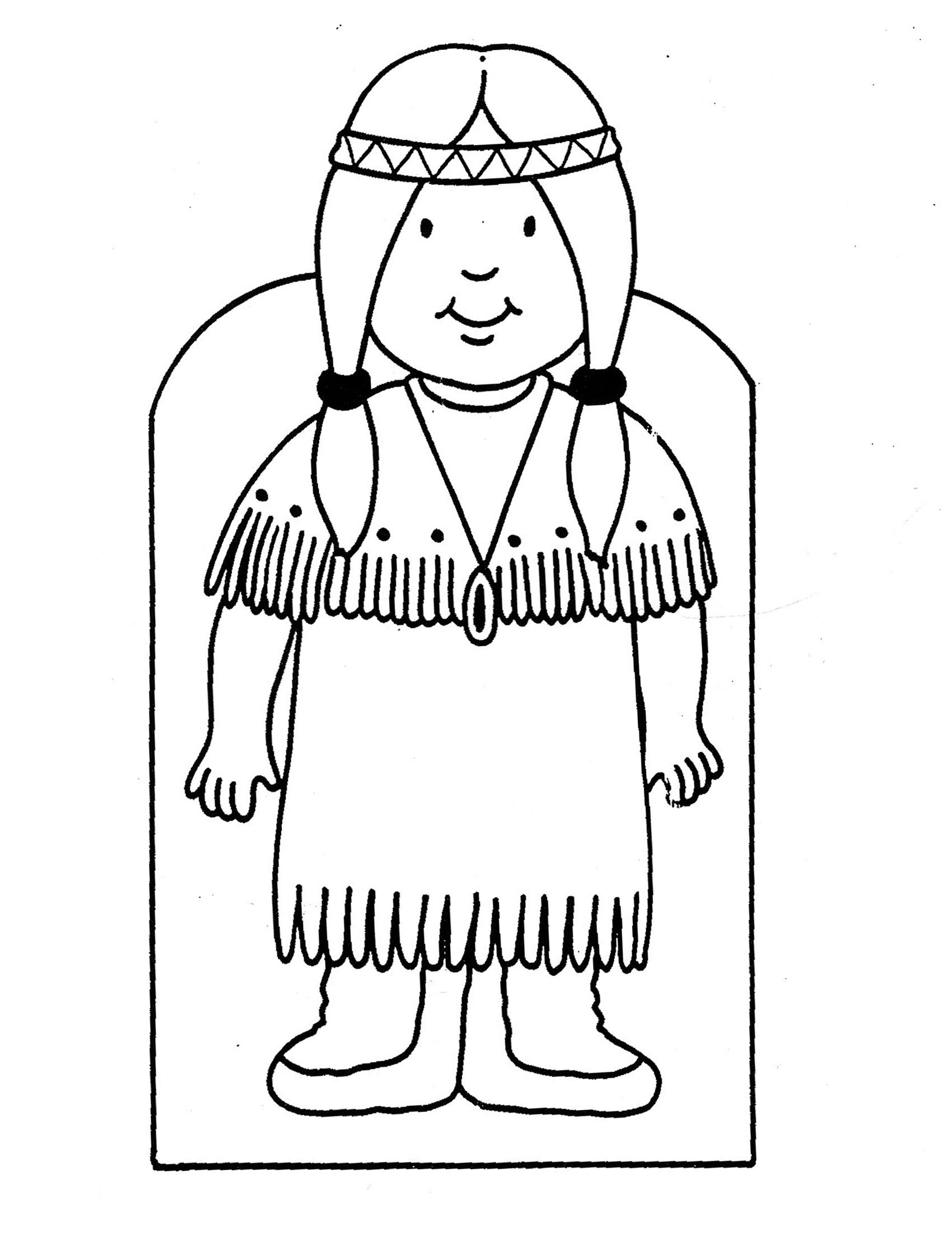 Indians Coloring Pages For Kids And For Adults Coloring Home