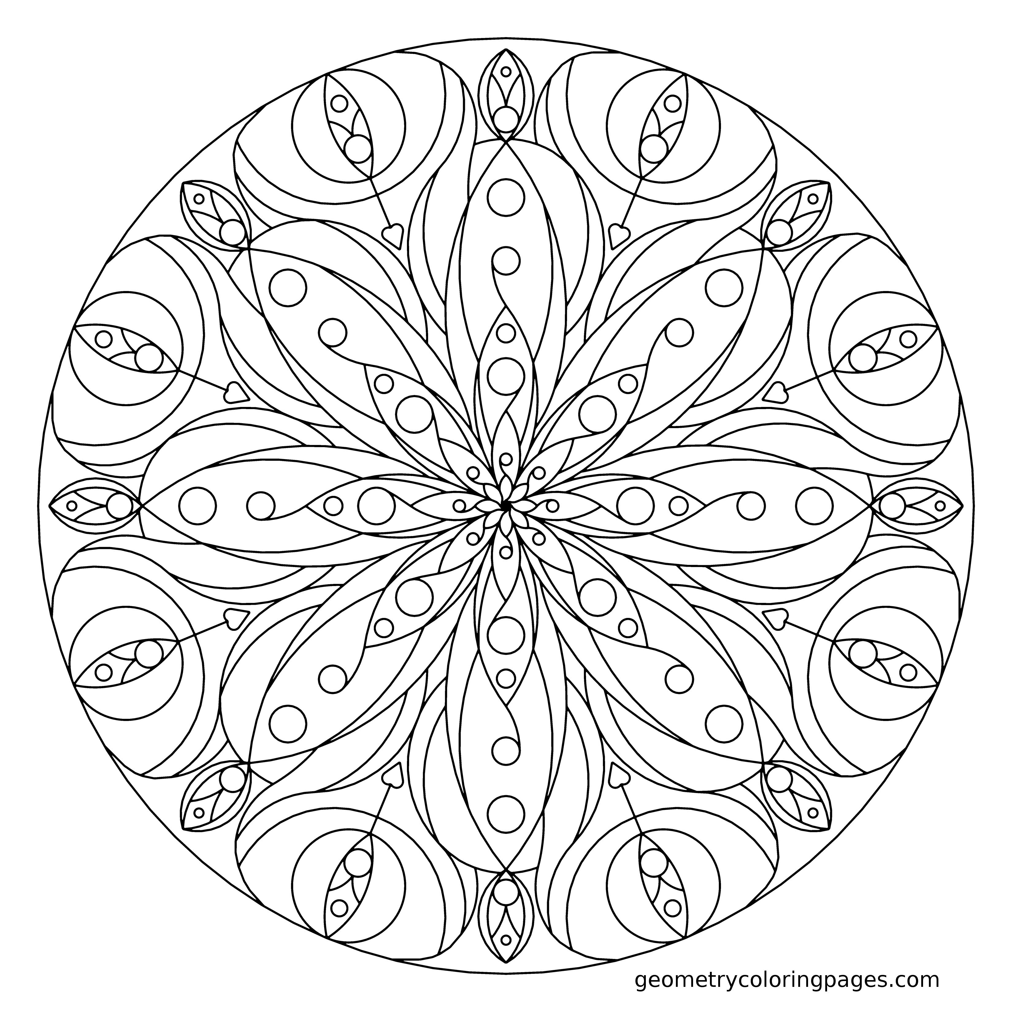 Mandala | Coloring Pages, Mandalas ...