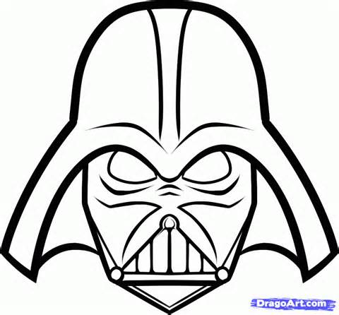 darth vader coloring pages coloring home. Black Bedroom Furniture Sets. Home Design Ideas