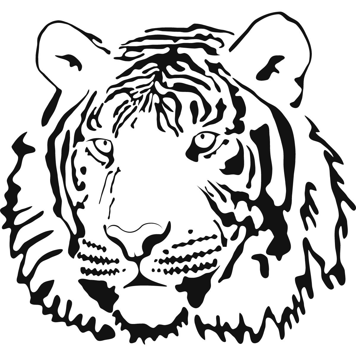 tiger 20lily coloring pages coloring home