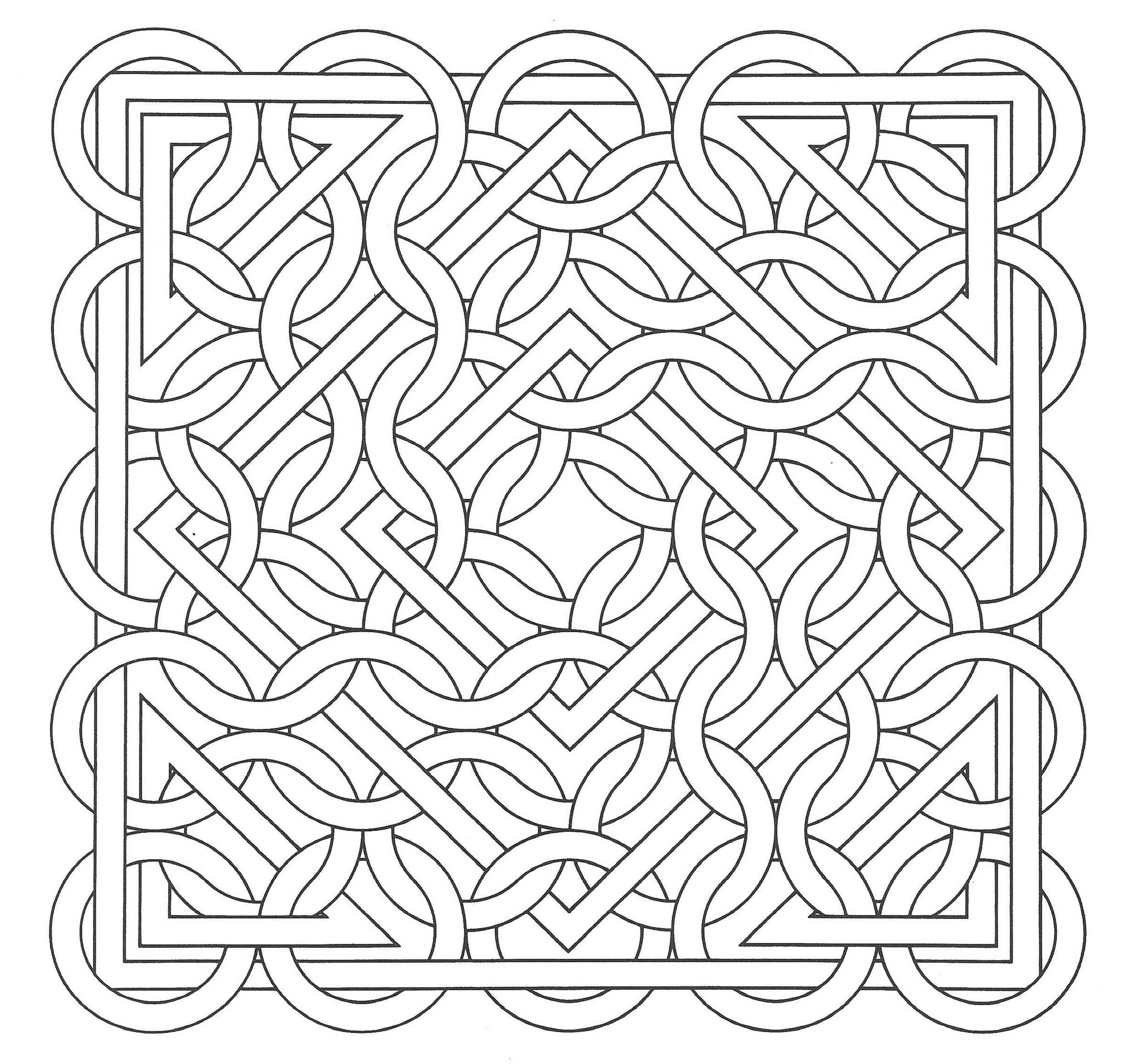 op art coloring pages - photo#20