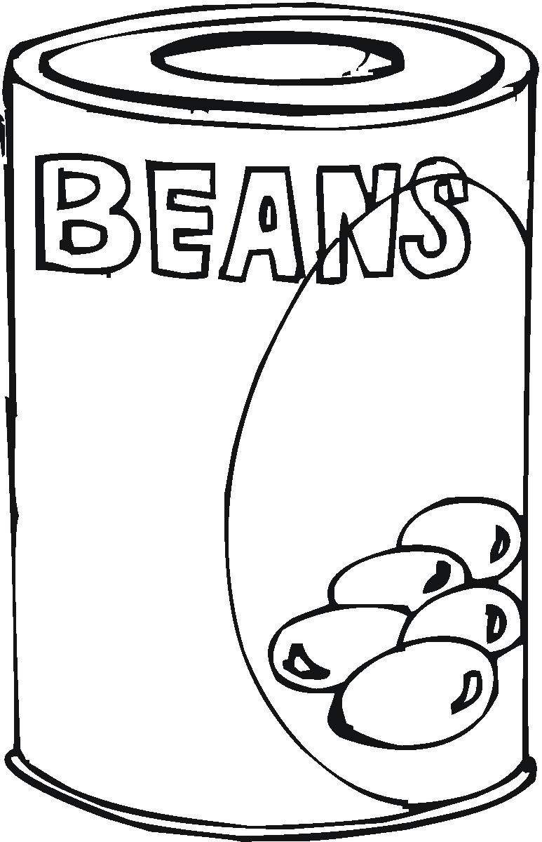 Coloring pages healthy food coloring pages junk food coloring pages - Canned Food Coloring Pages Hicoloringpages Coloring Home