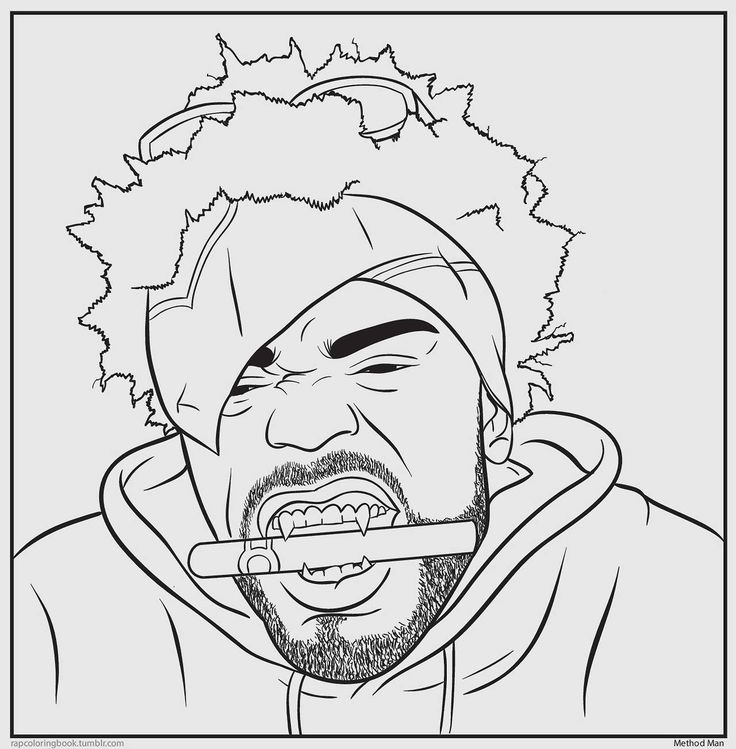 10 Pics Of Rappers Coloring Pages Printable