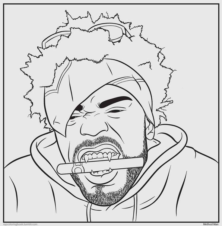 Hip Hop Coloring Pages