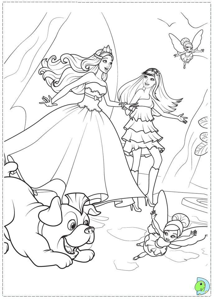barbie princess and the popstar coloring pages - Google-søgning ...