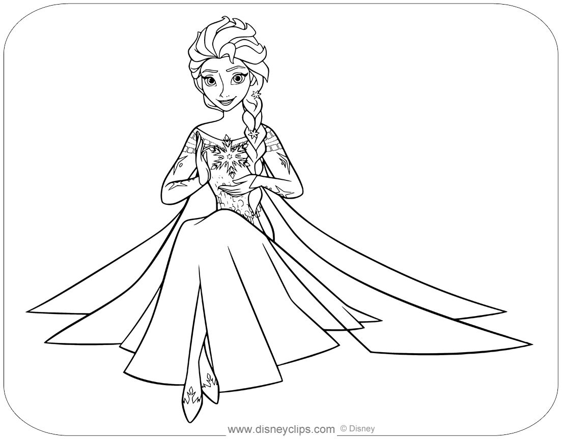 - Disney Frozen Coloring Pages - Coloring Home