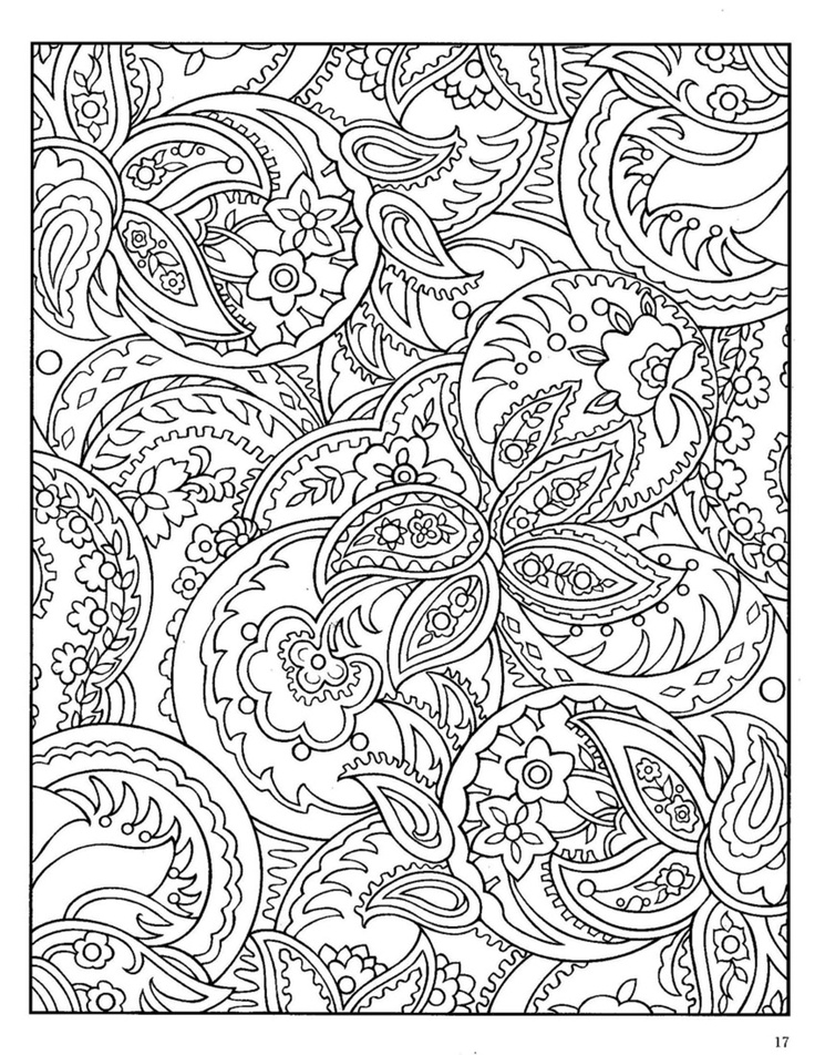 Zentangles Coloring Pages - Coloring Home