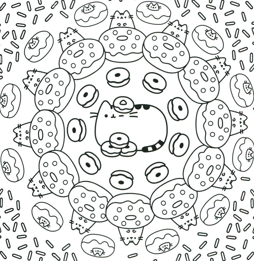 Top Coloring Pages: Pusheen Coloring Page Nyan Cat Pages ...